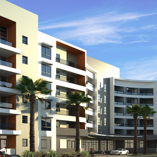 anaheim apartment rendering